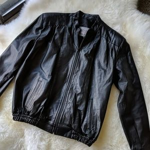 Argentinan Leather Jacket Size Large
